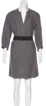 Vince Linen Mini Dress