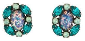 Dannijo Crystal & Glass Stud Earrings