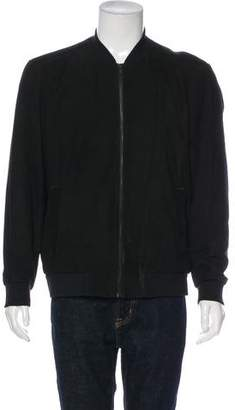 Theory Suede Bomber Jacket w/ Tags