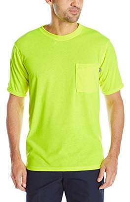 Red Kap Men's Hi-Visibility T-Shirt