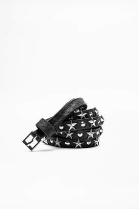 Zadig & Voltaire Mini Xs Starlight Belt