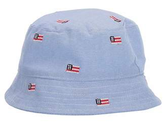 Janie and Jack Flag Bucket Hat (Infant)