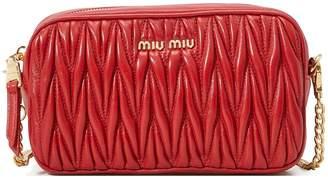 Miu Miu Quilted cross-body bag