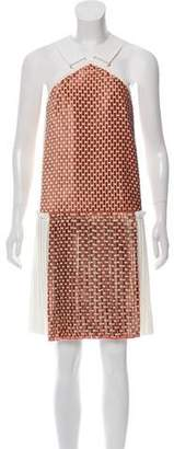 Victoria Beckham Cross-Neck Sleeveless Dress w/ Tags