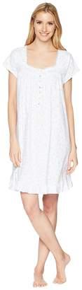 Eileen West Jersey Short Nightgown Women's Pajama