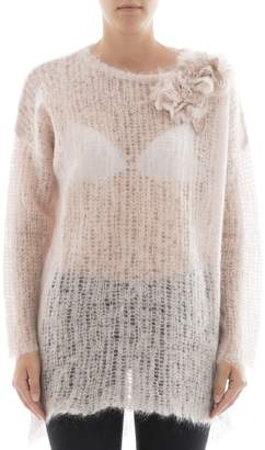 Valentino Pink Mohair Knitwear