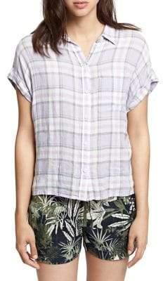 Sanctuary Plaid Button-Down Shirt
