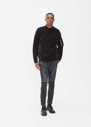 Sacai Knit Combo Pullover