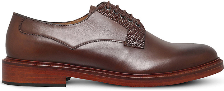 Paul SmithPaul Smith Morse leather derby shoes