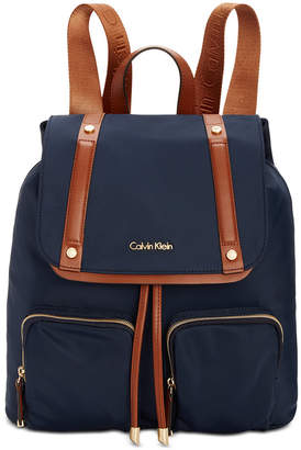 Calvin Klein Teodora Cargo Backpack $178 thestylecure.com