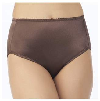 Vassarette Women's Undershapers Light Control Hi Cut Panties, Style 48001
