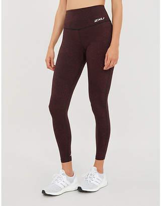 2XU Graphic-print high-rise stretch-jersey compression leggings