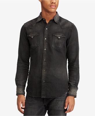 Polo Ralph Lauren Men's Western Shirt $198 thestylecure.com