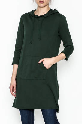 Others Follow Hooded Pocket Tunic Dress