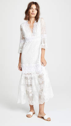 DAY Birger et Mikkelsen Temptation Positano V Neck Lace Dress