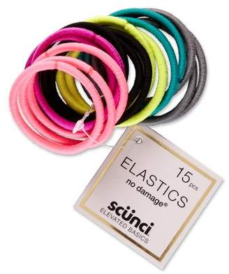 Scunci 4mm No Damage Elastics - 15pk