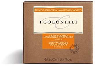 I Coloniali Deep Massage Body Cream with Myrrh