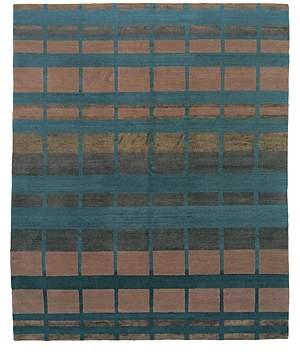 Tufenkian Artisan Carpets Modern Collection - Sliding Square Area Rug, 8' x 10'