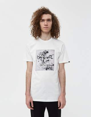 Vans Vault By S/S Ralph Steadman Off The Wall Tee in White