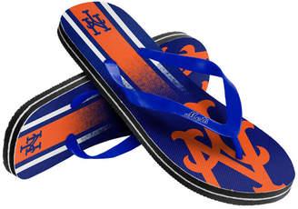 Forever Collectibles New York Mets Gradient Big Logo Flip Flops