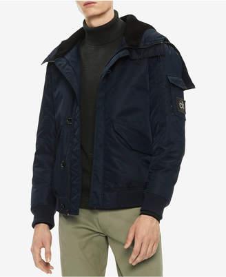 Calvin Klein Men's Oversized Puffer Bomber Jacket