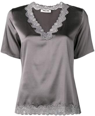 Max & Moi lace detail blouse