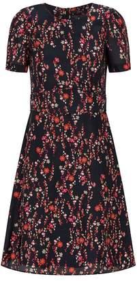 SET Floral A-Line Dress