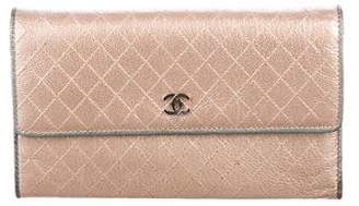 Chanel Tricold Continental Wallet