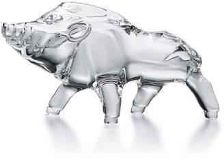 Baccarat Crystal Boar Ornament
