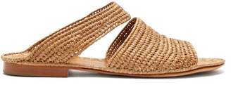 Carrie Forbes Ahmed Raffia Sandals - Womens - Tan