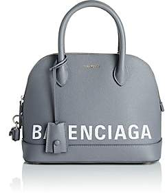 Balenciaga Women's Ville Leather Bowling Bag - Black