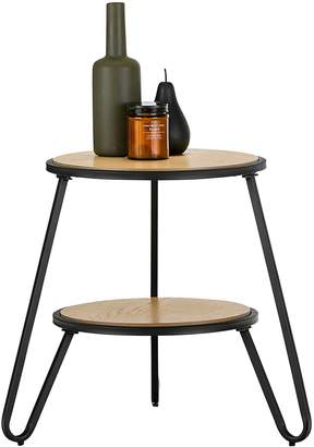 Warehouse Eastern Side Tables Macy Side Table, Black