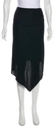 Jean Paul Gaultier Midi Asymmetrical Skirt