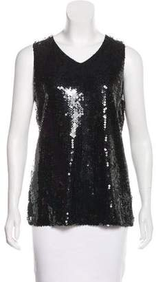 Chanel Sequined Sleeveless Top