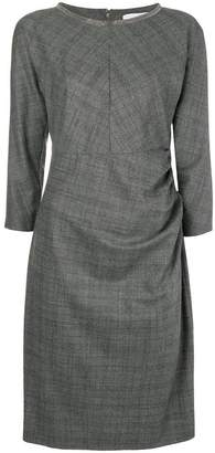 Fabiana Filippi draped detail midi dress