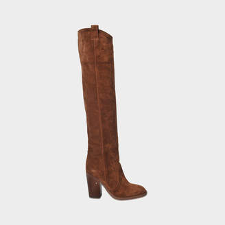 Laurence Dacade Silas long suede boot
