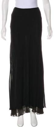 Donna Karan Chiffon Maxi Skirt