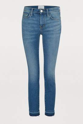 Current/Elliott Current Elliott The Stiletto high-waisted slim jeans