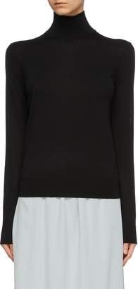 Theory Wool blend turtleneck sweater