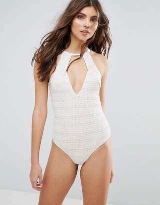MinkPink Lace Swimsuit