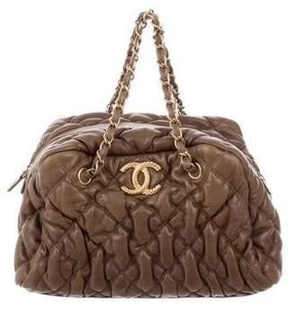 Chanel Bubble Quilt Bowler Bag