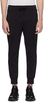 Attachment Slim fit wool blend jogging pants