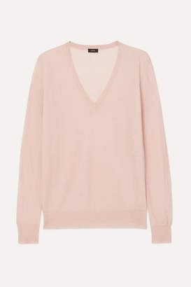 Joseph Cashmere Sweater - Baby pink