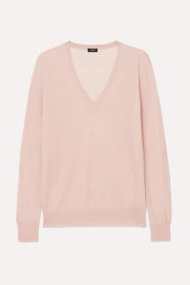 Joseph Cashmere Sweater - Baby pink