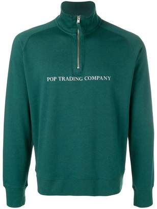 Pop Trading International logo printed sweatshirt