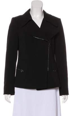 Calvin Klein Structured Zip-Up Jacket
