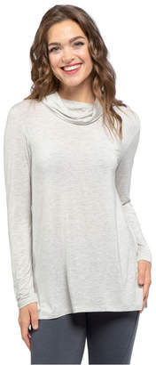 Yala Harper Long Sleeve Cowl Neck Viscose from Bamboo Top