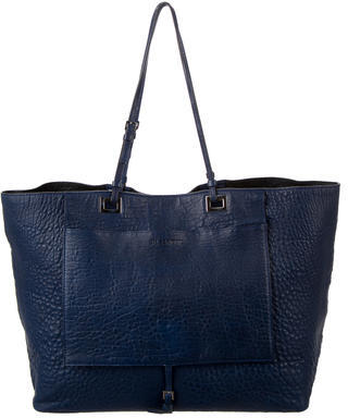 Jil Sander Jil Sander Pebbled Leather Tote