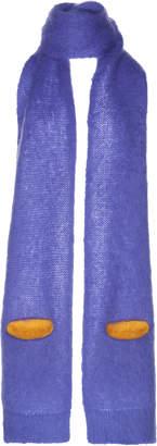 Maison Margiela Mohair Scarf With Pocket