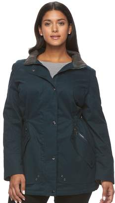 Mo Ka Plus Size MO-KA Hooded Anorak Jacket